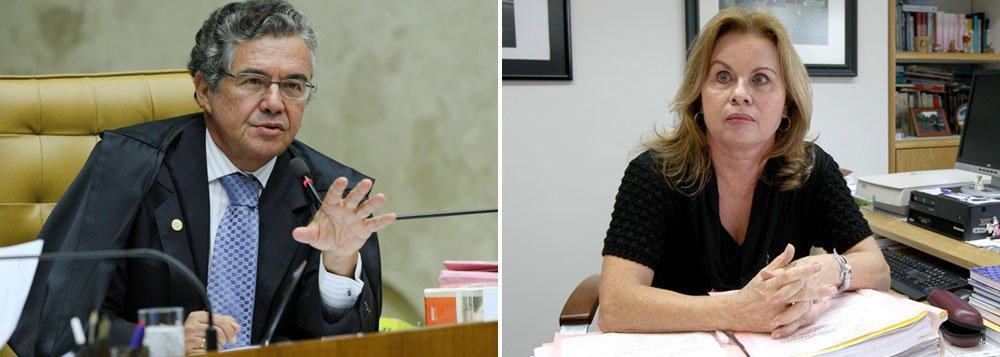Marco Aurélio contesta Sandra Cureau
