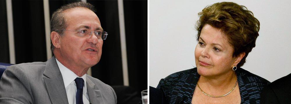 Renan a Dilma: plebiscito depende da Câmara