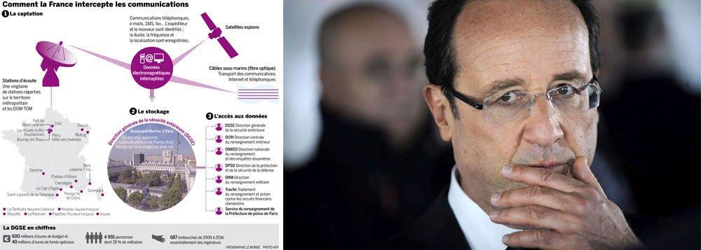 """França também tem """"vasto sistema de espionagem"""", diz Le Monde"""