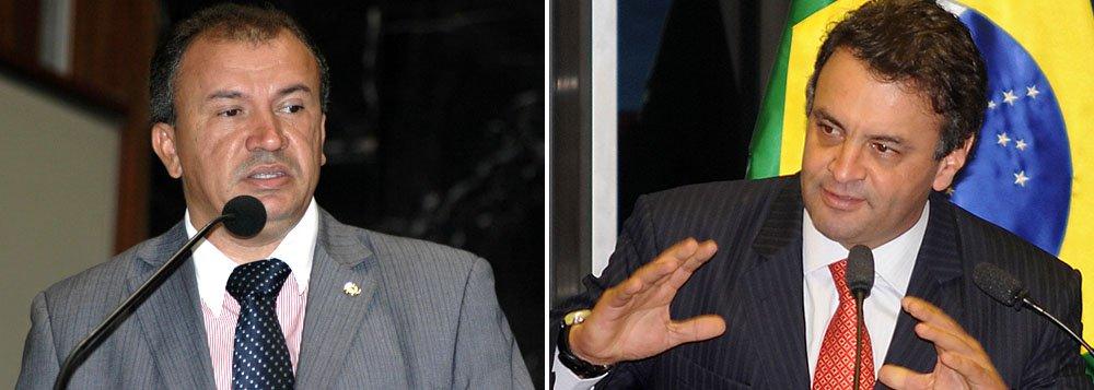 Líder do PT tenta CPI contra Aécio