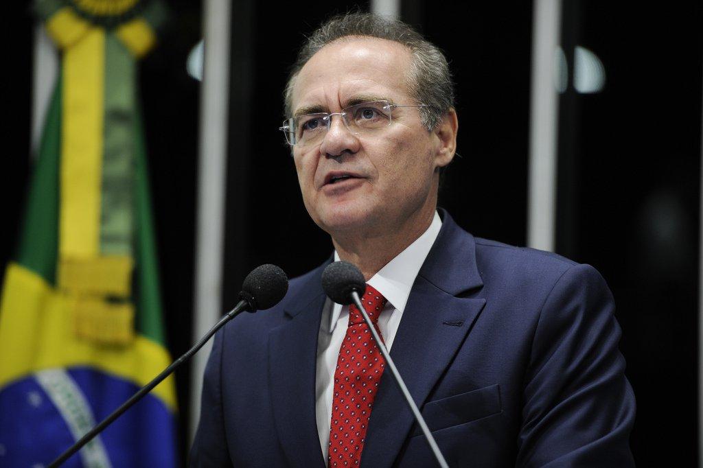 """Renan sobre denúncia de Gurgel: """"completamente estranha"""""""