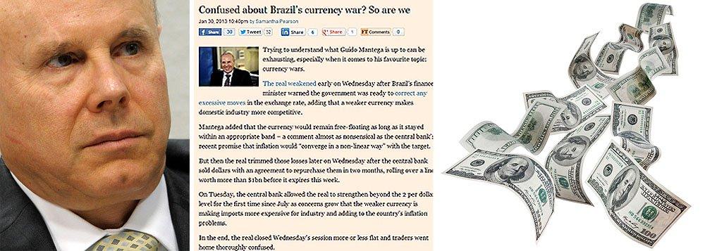 Financial Times ataca Mantega novamente
