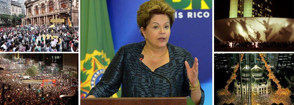 Em Salvador, Dilma retoma contato direto com o povo