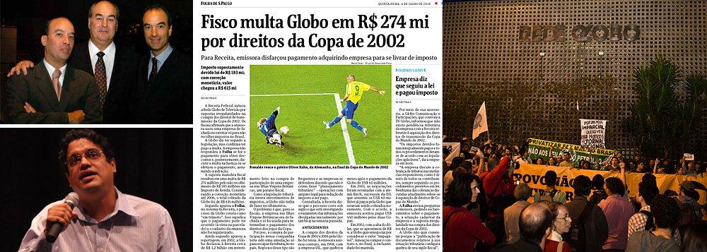 Folha segue O Cafezinho e também denuncia a Globo