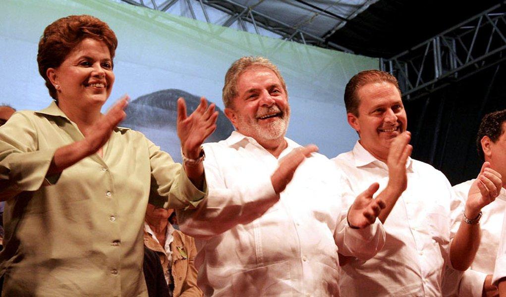 Lula quer o PSB como vice de Dilma em 2014