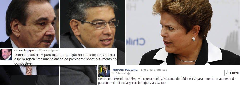 Oposição cobra de Dilma discurso sobre gasolina