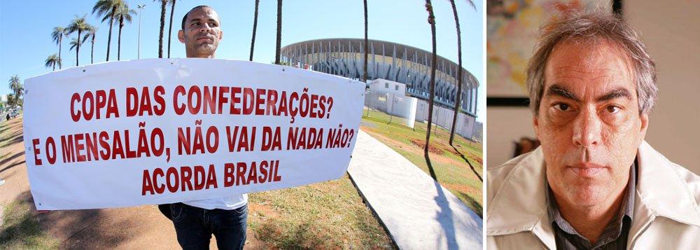 Para Magnoli, Copa é de Lula, não do Brasil