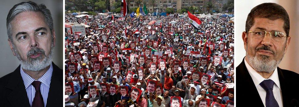 Brasil classifica como golpe mudança no Egito