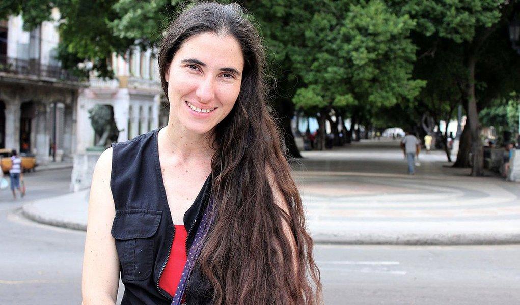 Blogueira Yoani Sánchez já pode sair de Cuba