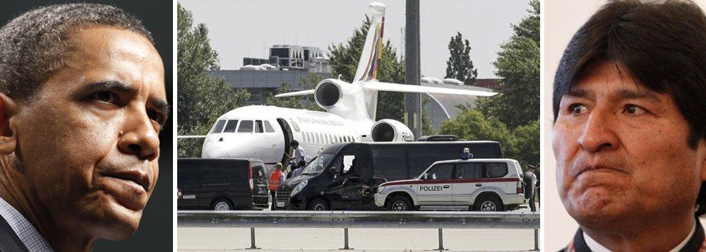 'Sequestro' de Morales foi ordem direta de Obama
