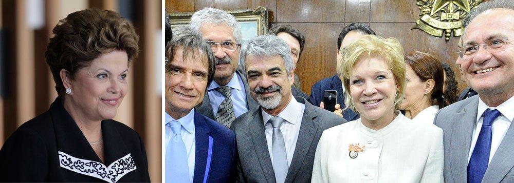 Com o Rei, artistas vão a Dilma sobre novo Ecad