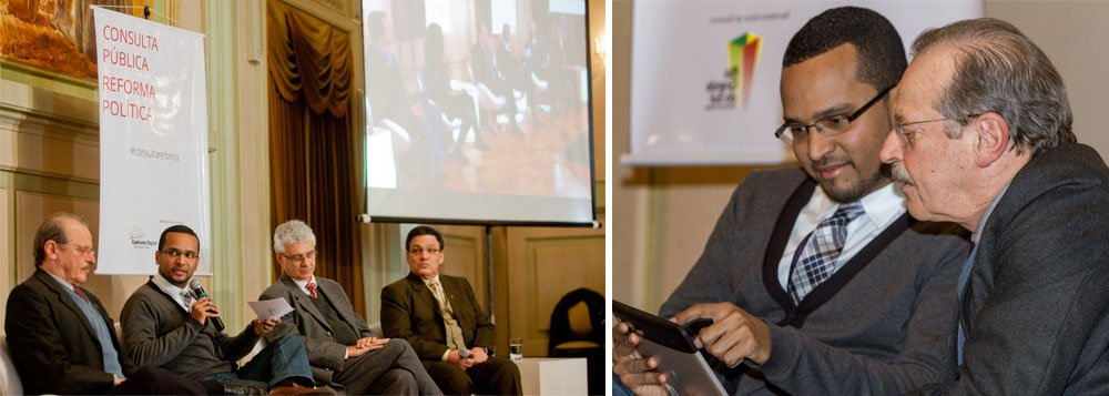 Tarso promove debate sobre reforma política