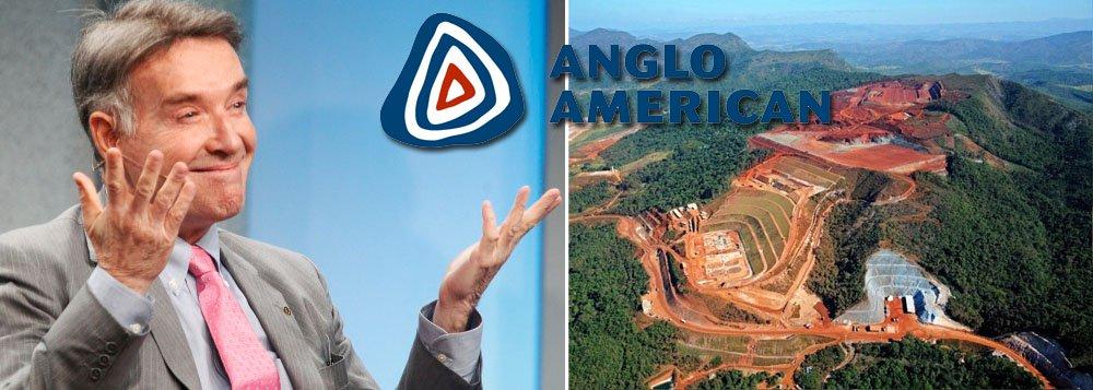 Mina vendida por Eike faz Anglo American perder US$ 4 bilhões