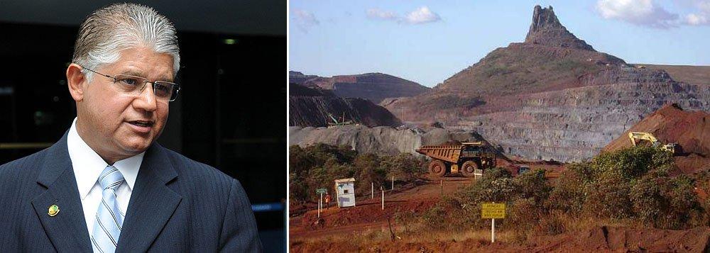 Clésio lidera ação para elevar royalty do minério