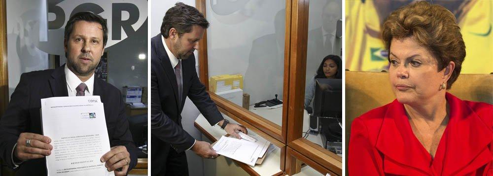 PSDB representa contra Dilma na Procuradoria