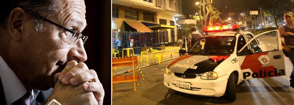 "Alckmin sobre aumento nos homicídios: ""preocupante"""
