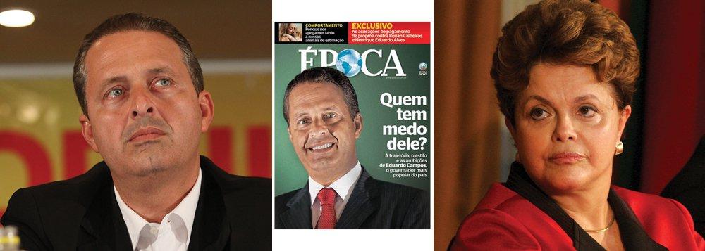 Em 25 páginas, Época exalta Campos. É candidato?