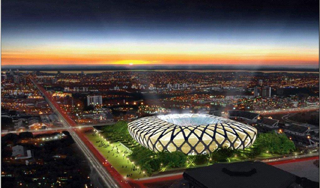 Entorno da Arena Amazônia ganhará energia solar