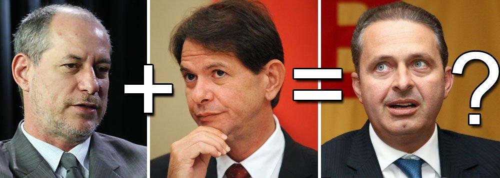 """Eduardo Campos e a """"saia justa"""" dos irmãos Gomes"""