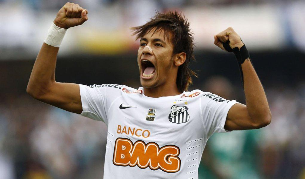 Com novo show de Neymar, Santos é tri