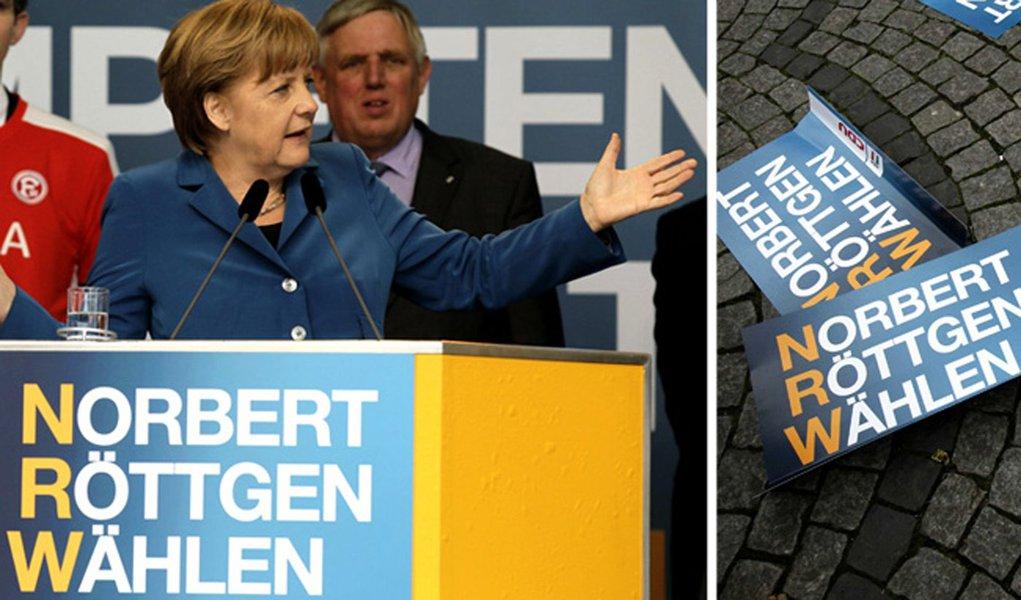 Partido de Merkel alcança pior desempenho em Renânia do Norte-Vestfália