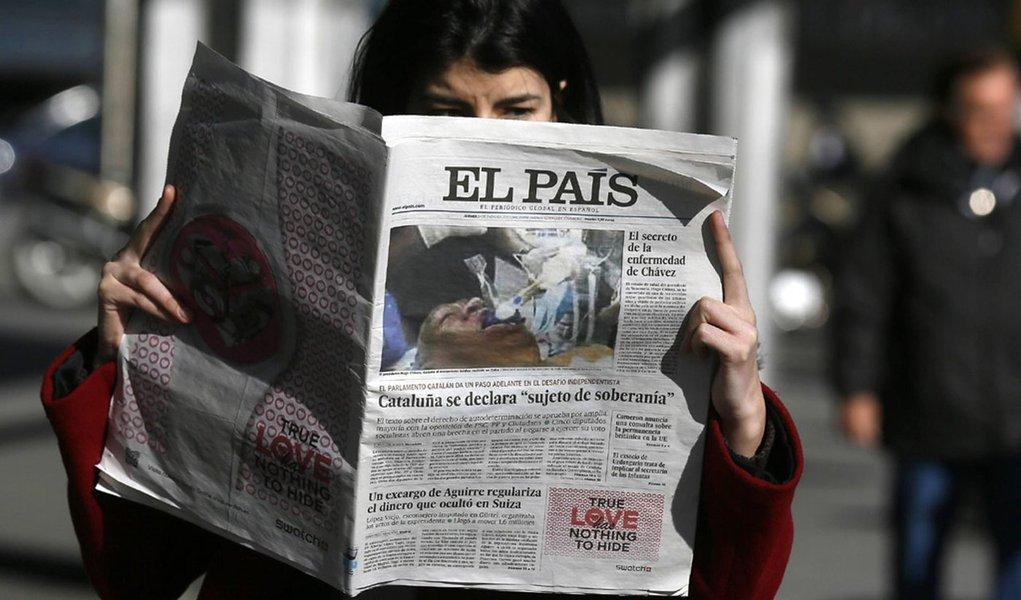 Venezuela pode processar El País por foto falsa de Chávez