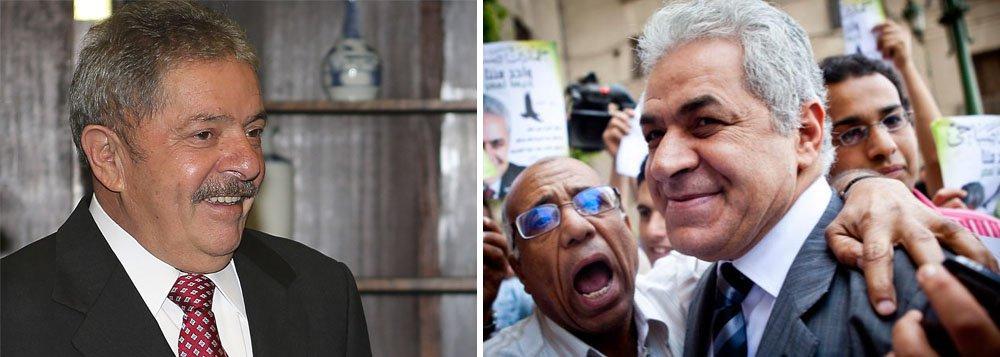 Lula é exemplo para líderes árabes, diz egípcio