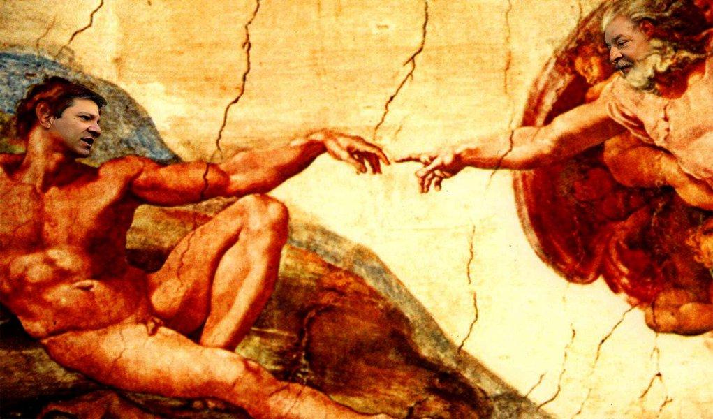 Com Haddad, Lula testa o seu dedo divino