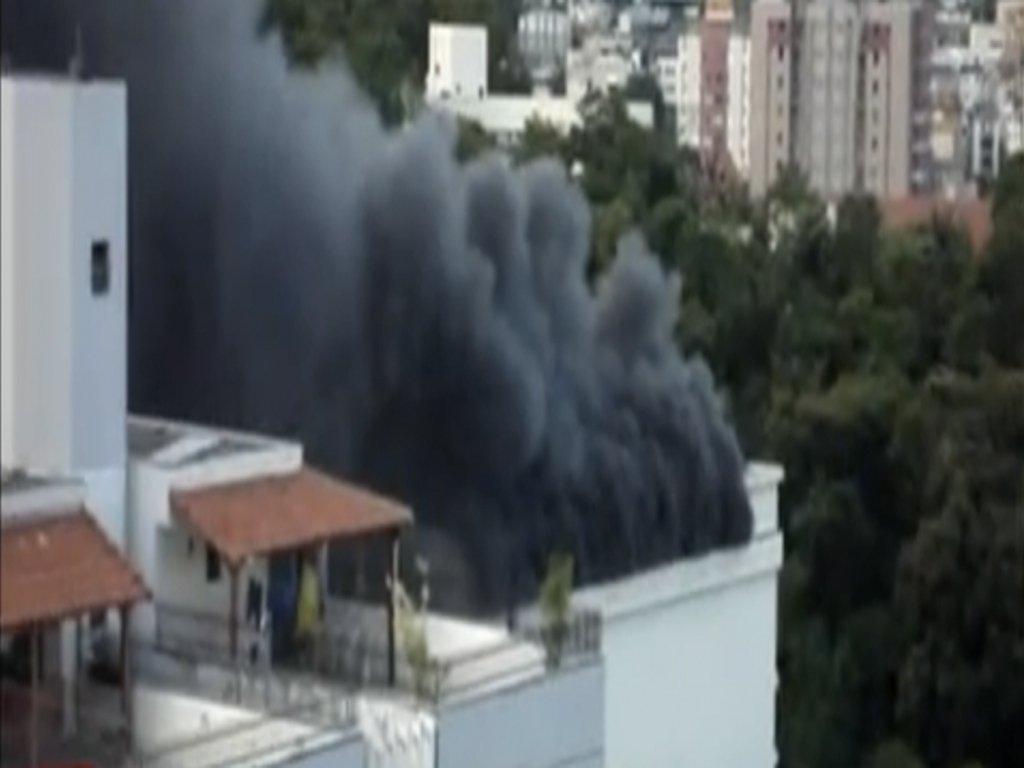 Museu da PUC Minas é fechado depois do incêndio