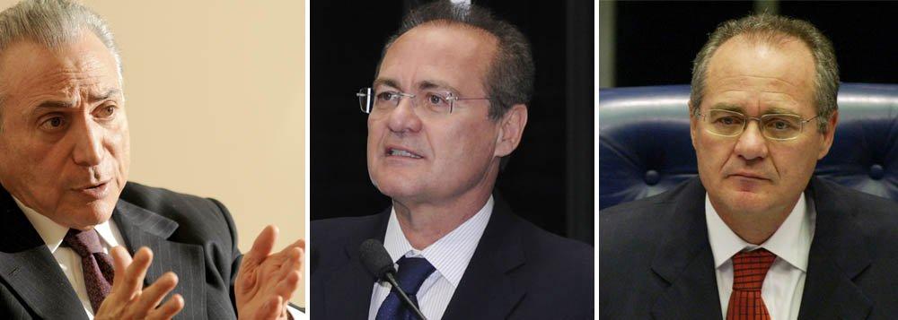 """Temer: Renan pode fazer """"belíssima gestão"""" no Senado"""