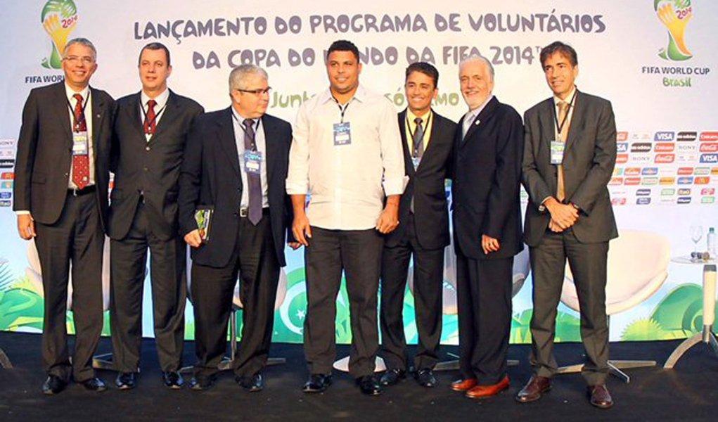 Programa abre inscrições para voluntários na Copa
