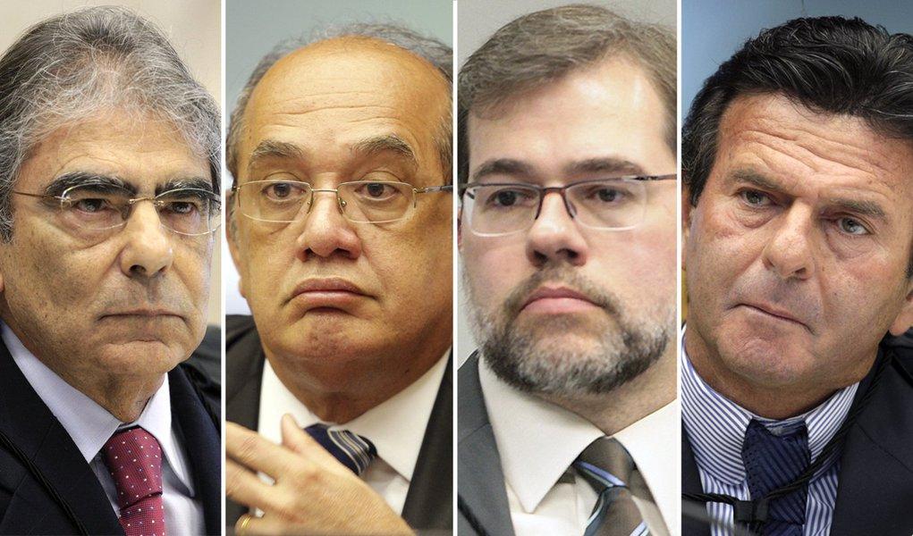 Ayres Britto: ministros do STF não temem grampos