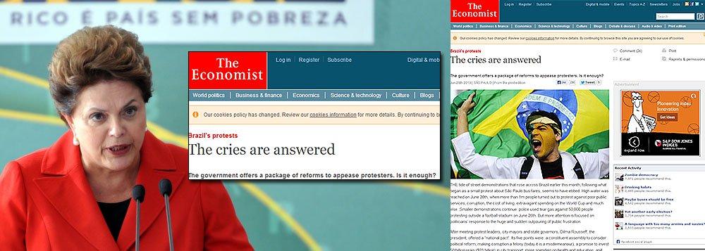 """Plano de Dilma foi """"apressado"""", diz Economist"""