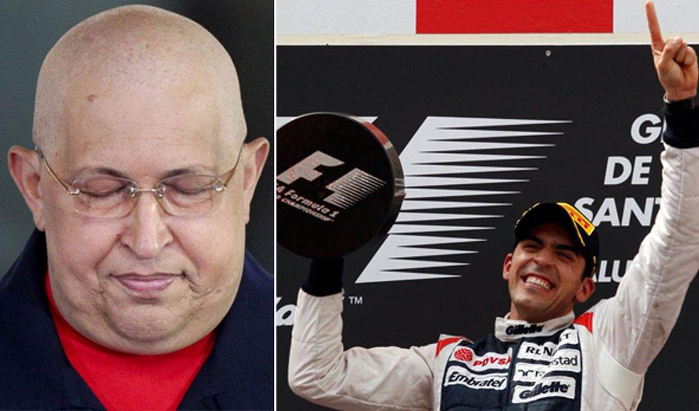 Maldonado venceu, mas quem arrancou foi Chávez