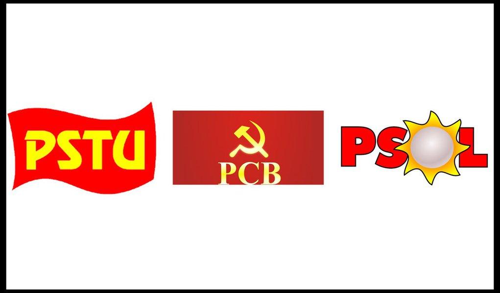 """Candidatos do PSOL, PSTU e PCB atacam os """"Joões"""""""