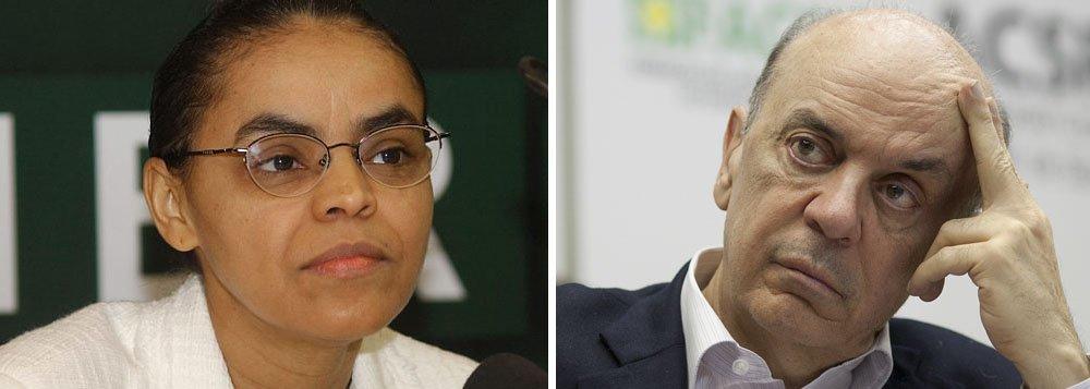 Marina Silva descarta Serra em seu novo partido