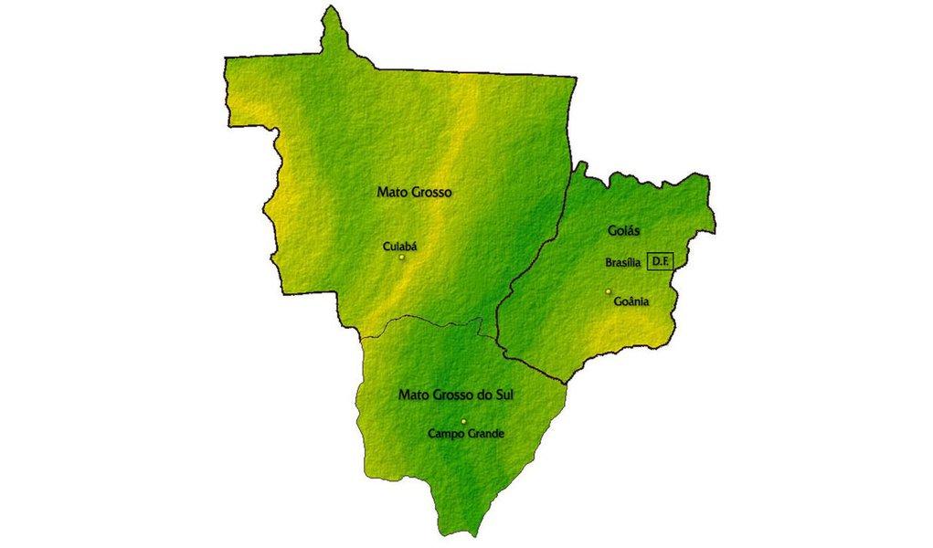 É este o mapa de atuação da Delta no Brasil?