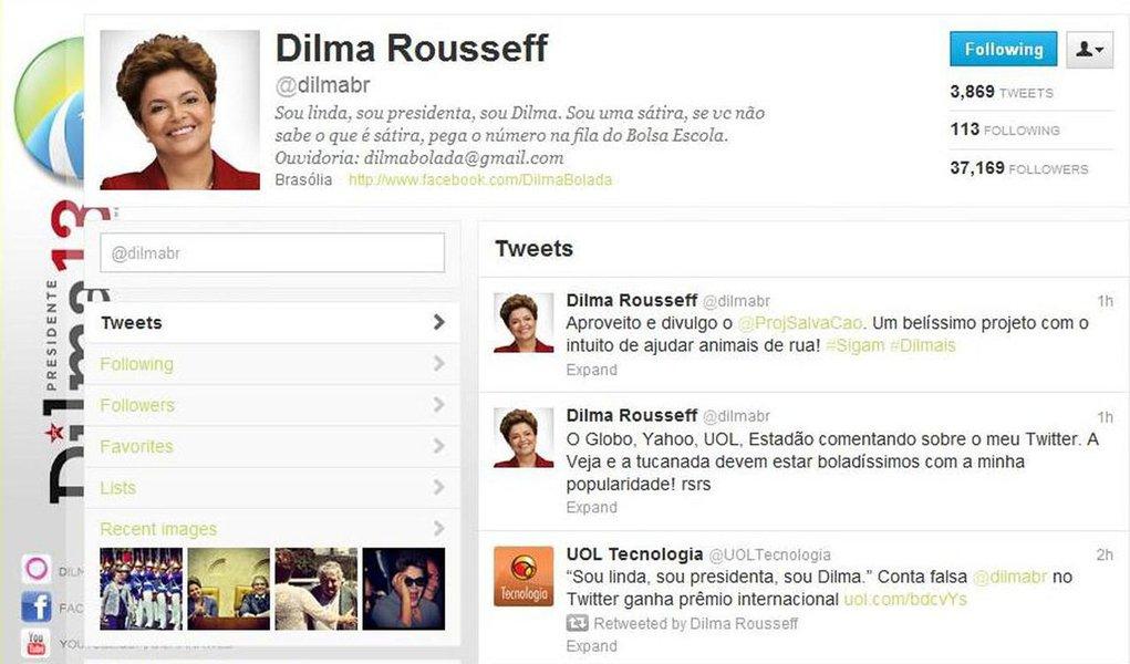 'Dilma Bolada' conquista redes sociais