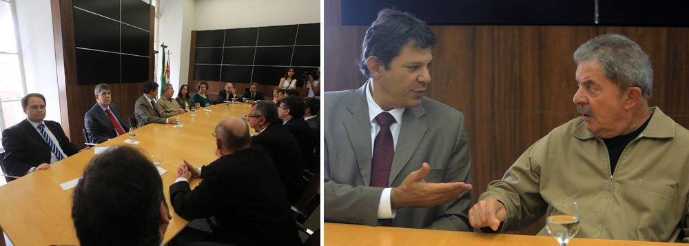 """Haddad sobre ânimo de Lula: """"Melhor, impossível"""""""