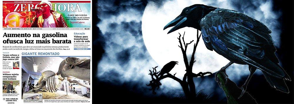 Os corvos também voam pelo sul