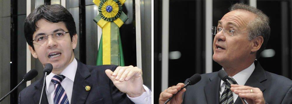 """Randolfe desafia: """"Não sou senador de cabresto"""""""