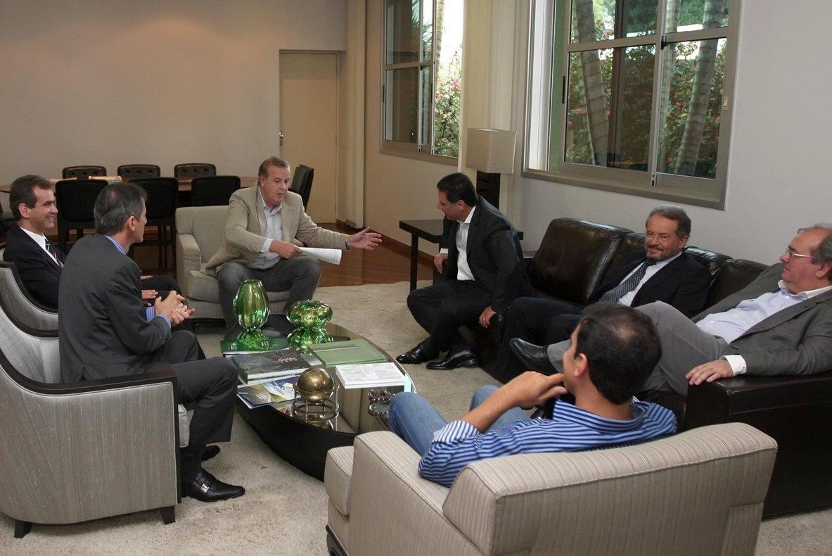Marconi e Paulo definem obras para Goiânia