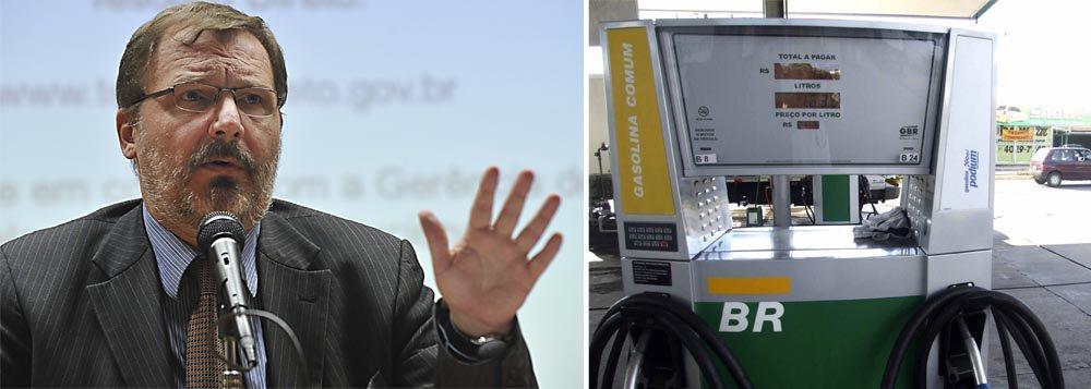"""Governo """"desconhece"""" aumento na gasolina"""