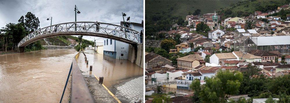 Chuva: 240 desabrigados em São Luiz do Paraitinga