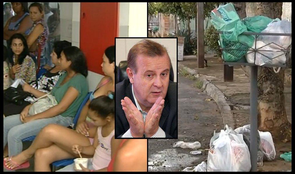 Prefeitura enfrenta crise nos serviços básicos
