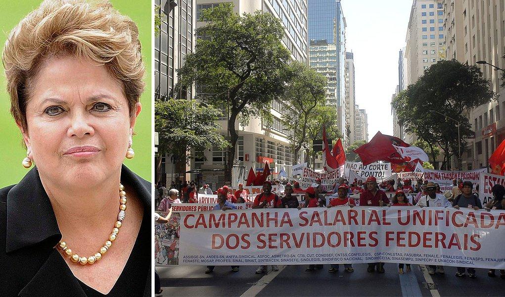 Dilma ignora centrais sindicais e foca em salários menores
