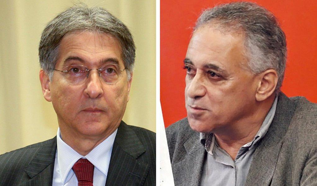 Pimentel e Roberto Carvalho: a volta da dupla