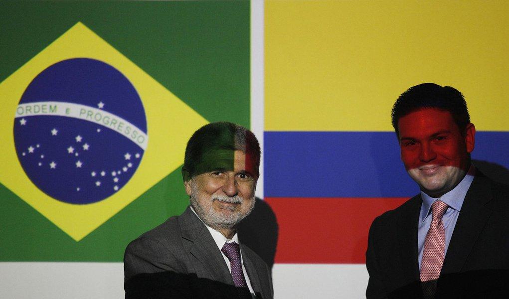 Brasil e Colômbia discutem plano para proteger fronteiras