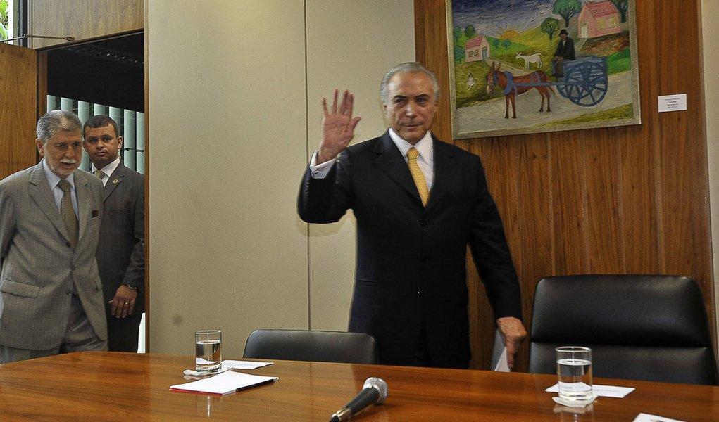 Temer tem hoje primeira reunião do ano com Dilma