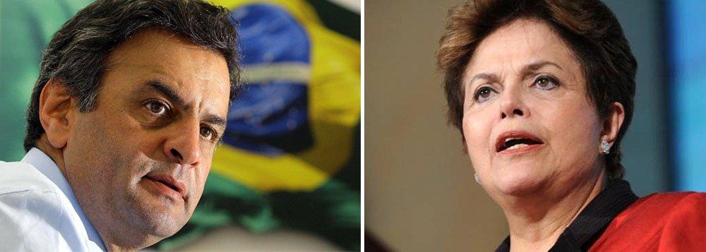 "Aécio ataca ""contabilidade criativa"" de Dilma"